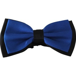 Vêtements Homme Cravates et accessoires Chapeau-Tendance Noeud papillon bi-ton DUPORT Bleu