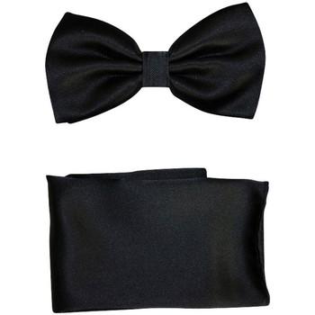 Vêtements Homme Cravates et accessoires Chapeau-Tendance Nœud papillon uni Noir