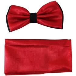 Vêtements Homme Cravates et accessoires Chapeau-Tendance Noeud papillon bi-ton MAGDI Rouge
