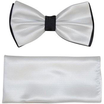 Vêtements Homme Cravates et accessoires Chapeau-Tendance Noeud papillon bi-ton MAGDI Blanc
