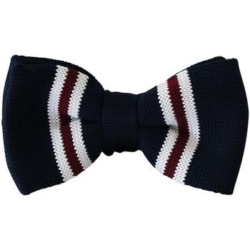 Vêtements Homme Cravates et accessoires Chapeau-Tendance Nœud papillon tricot  YOICHI Bleu marine