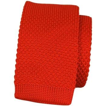 Vêtements Homme Cravates et accessoires Chapeau-Tendance Cravate tricot uni Rouge