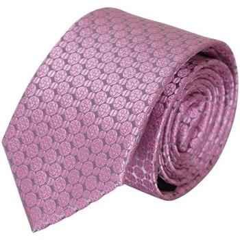 Vêtements Homme Cravates et accessoires Chapeau-Tendance Cravate BOISE Rose