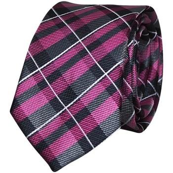Vêtements Homme Cravates et accessoires Chapeau-Tendance Cravate écossaise Rose