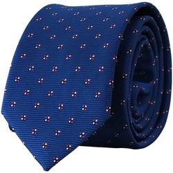 Vêtements Homme Cravates et accessoires Chapeau-Tendance Cravate FONTANA Bleu