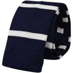 Vêtements Homme Cravates et accessoires Chapeau-Tendance Cravate tricot fantaisie Bleu marine