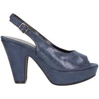 Chaussures Femme Sandales et Nu-pieds Martina B 19-159-c8 santal Femme Bleu Bleu