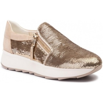 Chaussures Femme Slip ons Geox basket d gendry a Marron