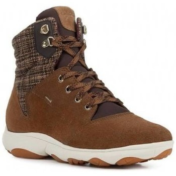 Chaussures Femme Baskets montantes Geox Basket montante d nebula 4x4 b abx Marron