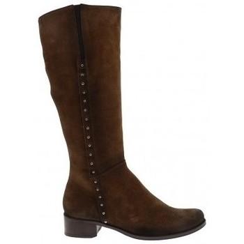 Chaussures Femme Bottes ville Dorking Botte d8090-ca Marron