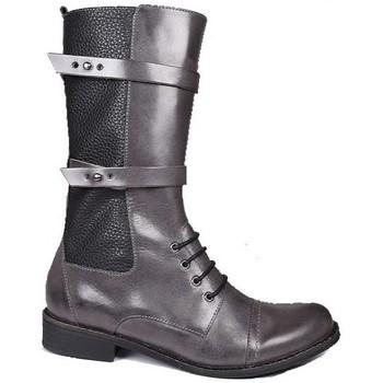 Chaussures Femme Bottes ville Karston Botte acro Gris