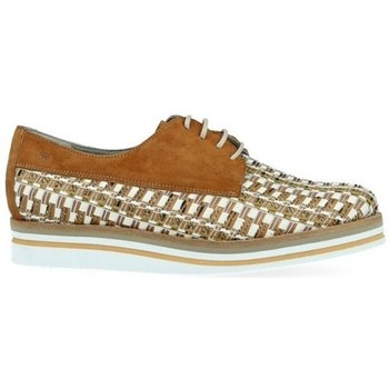 Chaussures Femme Derbies Dorking Derby d7852-ikac Marron