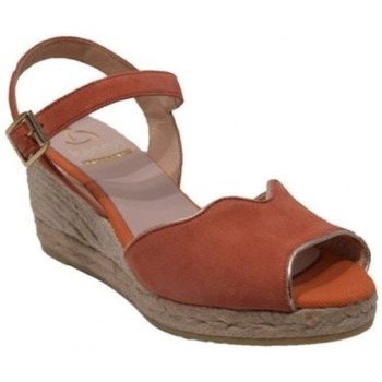 Chaussures Femme Espadrilles Kanna Sandale 19kv9214 orange