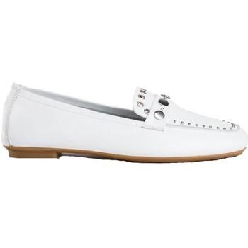 Chaussures Femme Mocassins Reqin's Mocassin honorine blanc
