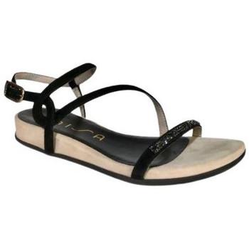 Chaussures Femme Sandales et Nu-pieds Unisa Sandale angola ks Noir