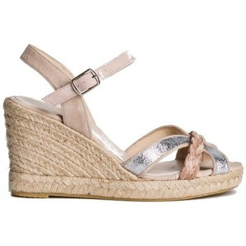 Chaussures Femme Espadrilles Reqin's sandale-ottawa rose