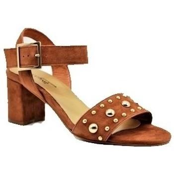Chaussures Femme Woman El Corte I Reqin's Sandale pacha peau Marron