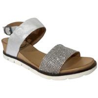 Chaussures Femme Sandales et Nu-pieds Lune Et L'autre Sandale princesse Argenté