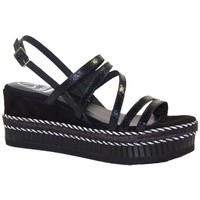 Chaussures Femme Sandales et Nu-pieds Kanna 20kv20143 Noir