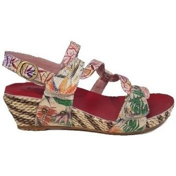 Chaussures Femme Sandales et Nu-pieds Laura Vita Sandale beclindao 201 rouge