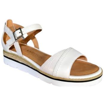 Chaussures Femme Sandales et Nu-pieds Karston Sandale kilgum blanc