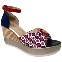 Chaussures Femme Sandales et Nu-pieds Mlv Sandale compensé Multicolor