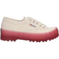 Chaussures Femme Baskets basses Superga 2555-ALPINA JELLYGUM COTU a0e-white-pink-extase