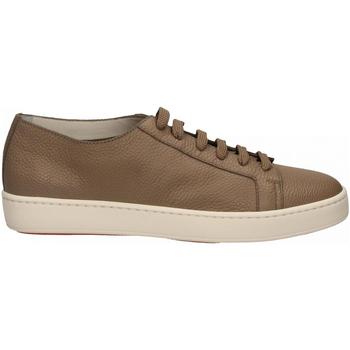 Chaussures Homme Baskets basses Santoni CLEANIC-MIA sabbia