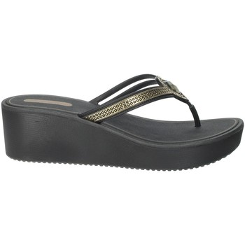 Chaussures Femme Tongs Grendha 82588 Noir/Or