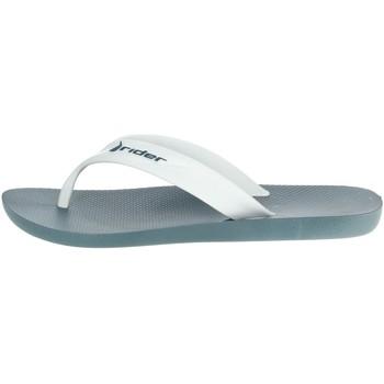 Chaussures Homme Tongs Rider 81666 Blanc/Bleu