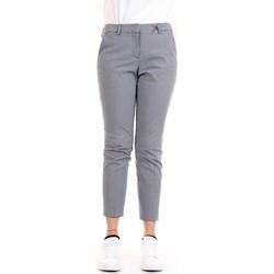 Vêtements Femme Pantalons 5 poches Cappellini M04716 Pantalon femme Bleu Bleu