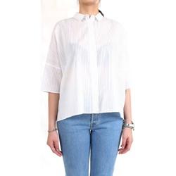 Vêtements Femme Chemises / Chemisiers Cappellini M06114 blanc