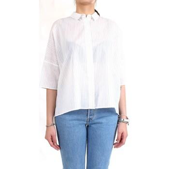 Vêtements Femme Chemises / Chemisiers Cappellini M06114 Chemise femme blanc blanc