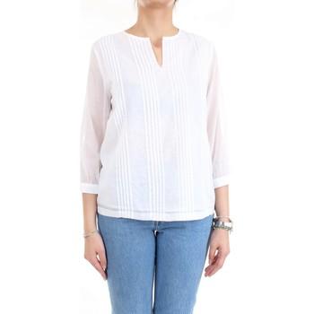 Vêtements Femme Chemises / Chemisiers Cappellini M06282L1 Chemise femme blanc blanc