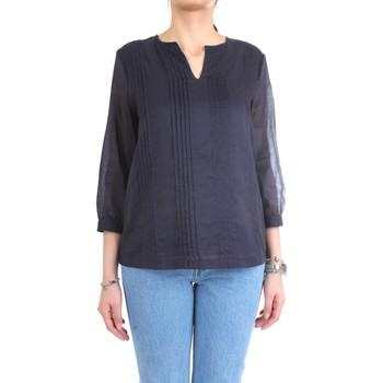 Vêtements Femme Chemises / Chemisiers Cappellini M06282L1 Chemise femme Bleu Bleu