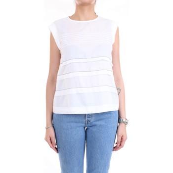 Vêtements Femme Tops / Blouses Cappellini M08166L1 blanc