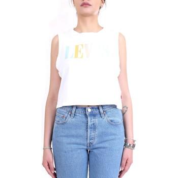 Vêtements Femme Tops / Blouses Levi's 39810 haut femme blanc blanc