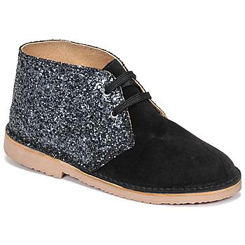 Chaussures Fille Boots Citrouille et Compagnie NINUP Noir