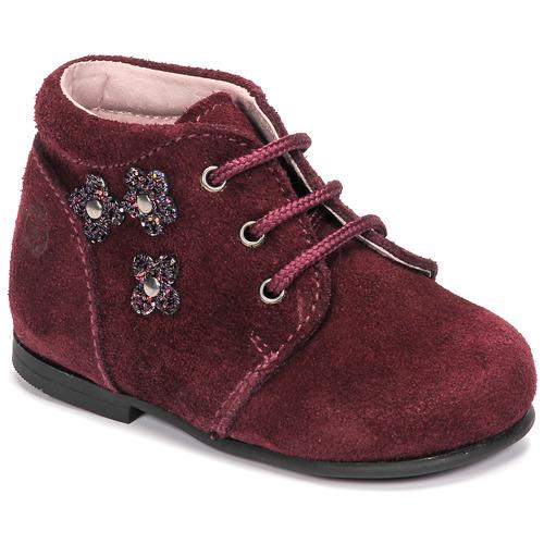 Chaussures Fille Boots Citrouille et Compagnie NONUP Bordeaux
