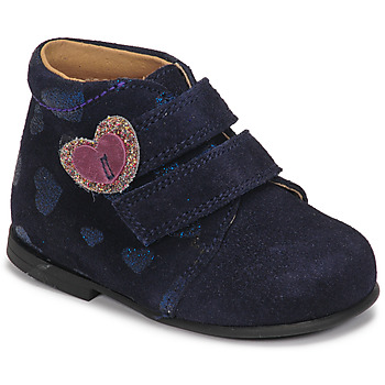Chaussures Fille Boots Citrouille et Compagnie NONUP Marine