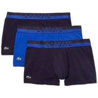 Sous-vêtements Homme Boxers Lacoste Pack de 3 boxers Bleu