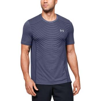 Vêtements Homme T-shirts & Polos Under Armour Tee-shirt Under Bleu