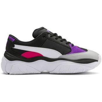 Chaussures Femme Baskets basses Puma Basket  STORMY Noir