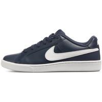 Chaussures Homme Baskets basses Nike Baskets  COURT Bleu