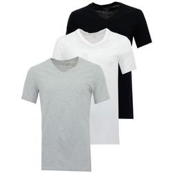 Vêtements Homme T-shirts manches courtes Lacoste Boxers  3PK Noir