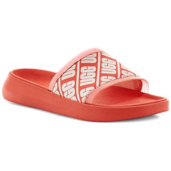 Chaussures Femme Claquettes UGG Sandale  RUETTE Orange