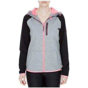 Vêtements Femme Sweats Emporio Armani EA7 Sweat à capuche Gris