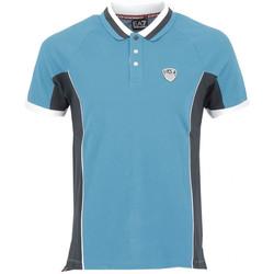 Vêtements Homme Polos manches courtes Emporio Armani EA7 Polos EA7 Emporio Bleu