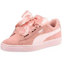 Chaussures Fille Baskets basses Puma Basket  Suede$SKU Rose