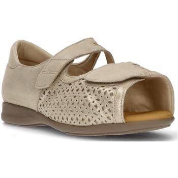 Chaussures Femme Sandales et Nu-pieds Calzamedi SANDALE ORTHOPÉDIQUE DE COUPE BEIGE